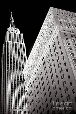 Photograph - Midtown Empire New York City by John Rizzuto