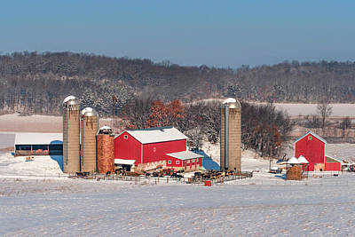 Photograph - Midwestern Dairy by Todd Klassy