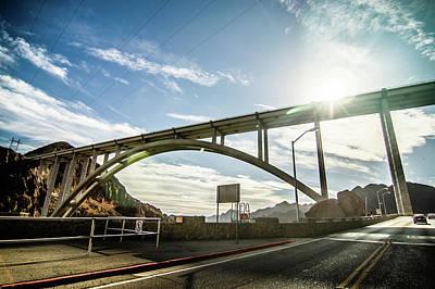 Photograph - Mike O Callaghan-pat Tillman Memorial Bridge by Alex Grichenko