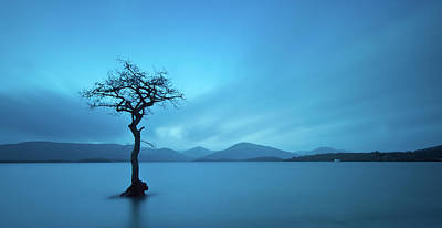 Tranquility Photograph - Milarrochy Bay by Photographybyurbaneyes.com
