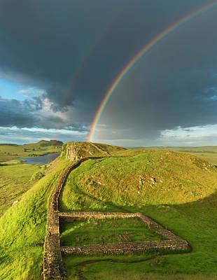 Photograph - Milecastle Rainbow by David Taylor