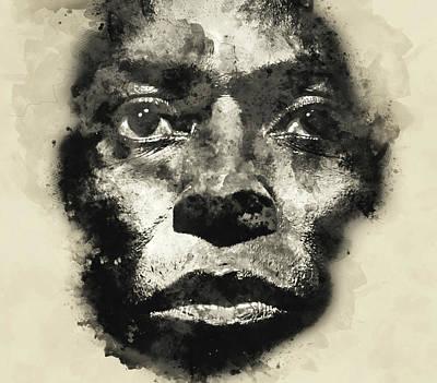 Painting - Miles Davis - 12 by Andrea Mazzocchetti