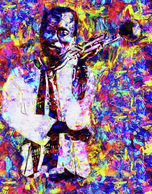 Painting - Miles Davis - 16 by Andrea Mazzocchetti