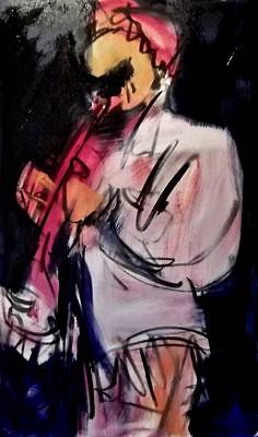 Painting - Miles Unfinished by Les Leffingwell