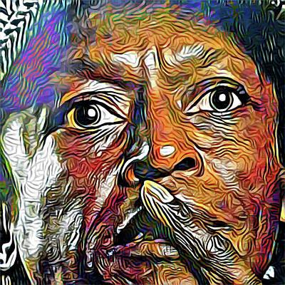 Digital Art - Miles Whisper by Gary Grayson