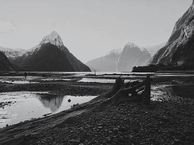 Photograph - Milford Sound  by Khaled Hmaad