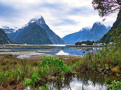 Photograph - Milford Sound - New Zealand by Steven Ralser