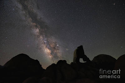 Photograph - Milky Way At Alabama Hills  by Michael Ver Sprill