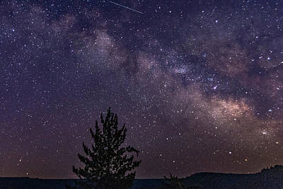 Photograph - Milky Way At Alta by Jack Peterson