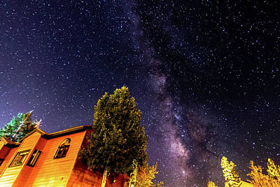 Photograph - Milky Way At Mammoth by Jack Peterson