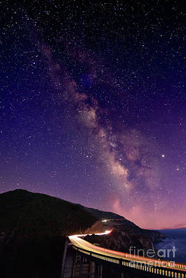 Photograph - Milky Way Galaxy by Bipul Haldar