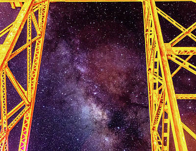 Photograph - Milky Way In Carp by Jack Peterson