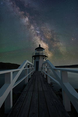 Photograph - Milky Way Over Doubling Point by Jesse MacDonald