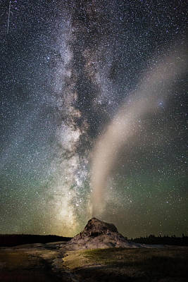 Photograph - Milky Way Over White Dome by Eilish Palmer