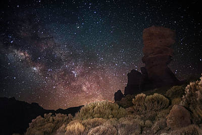 Photograph - Milky Way by This Is A Dream, Live It.