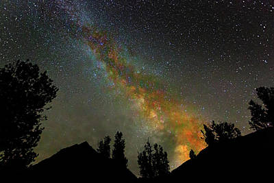 Mountain Royalty-Free and Rights-Managed Images - Milkyway Rising by Brian Knott Photography