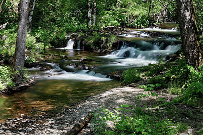 Photograph - Mill Creek by Nicholas Blackwell