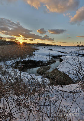 Photograph - Mill Creek Sunset by Michelle Constantine