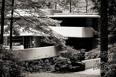 Photograph - Mill Run Fallingwater Frank Lloyd Wright  by Chuck Kuhn