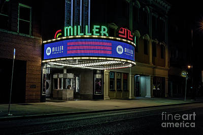 Photograph - Miller Theater Augusta Ga by Sanjeev Singhal