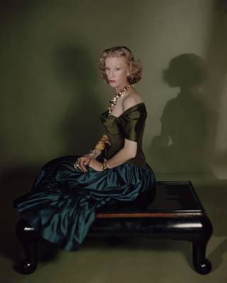 Photograph - Millicent Rogers In Charles James by Horst P. Horst