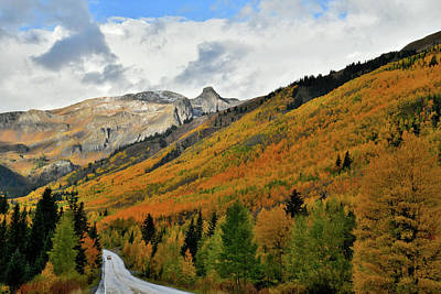 Photograph - Million Dollar Highway Through Fall Colors by Ray Mathis