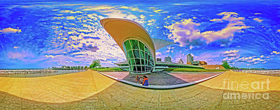 Photograph - Milwaukee Art Musem  Tom Jelen by Tom Jelen