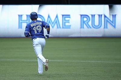 Photograph - Milwaukee Brewers V Toronto Blue Jays by Tom Szczerbowski