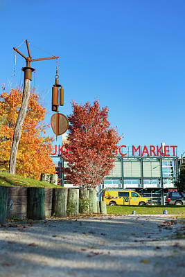 Photograph - Milwaukee Public Market Fall by Vincent Buckley