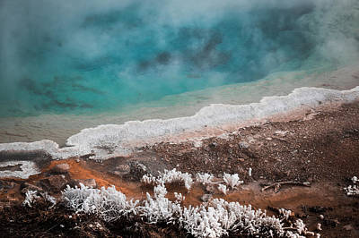 Photograph - Mineral Earth Abstract by Karen Wiles