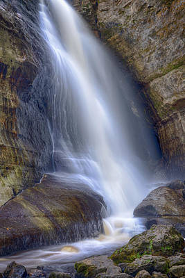 Photograph - Miners Falls by Brad Bellisle