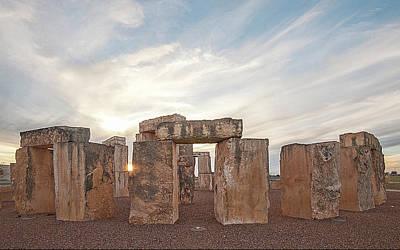 Photograph - Mini Stonehenge by Scott Cordell