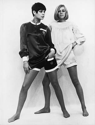 Photograph - Minipants By Mary Quant In 1966 by Keystone-france