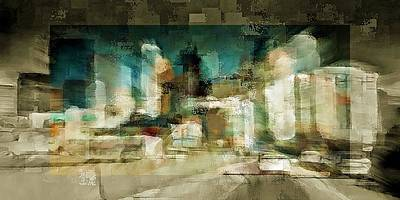 Digital Art - Minneapolis 2 by David Manlove