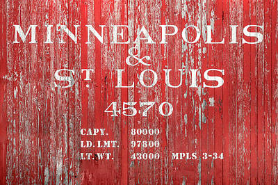 Photograph - Minneapolis And St. Louis by Todd Klassy