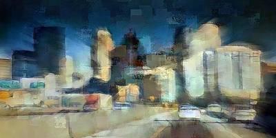 Digital Art - Minneapolis by David Manlove