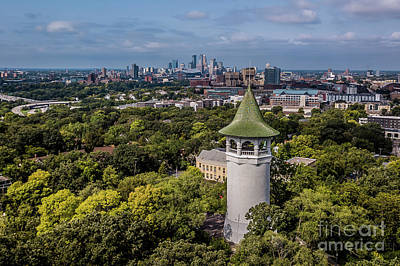 Photograph - Minneapolis Witch's Hat Tower by Habashy Photography