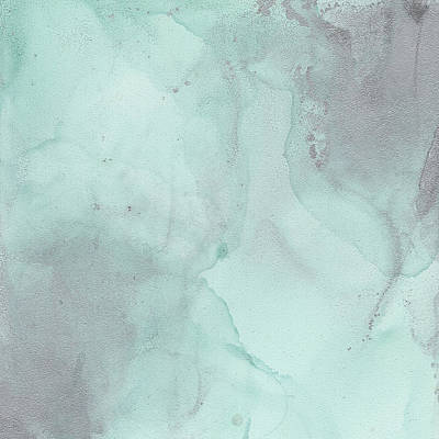 Painting - Mint Mist by Jai Johnson