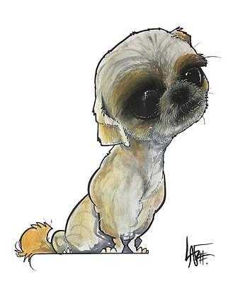 Drawing - Mireles Jack by John LaFree