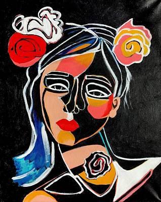 Painting - Mireya by Lee Wilde-Portraits