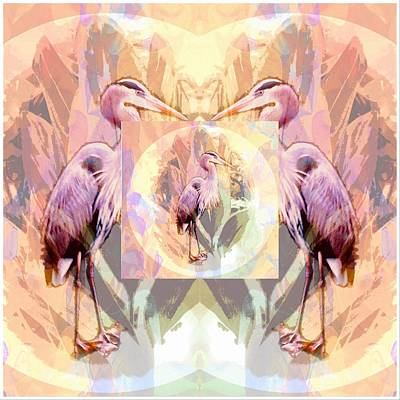 Digital Art - Mirror  Image  by Don Wright