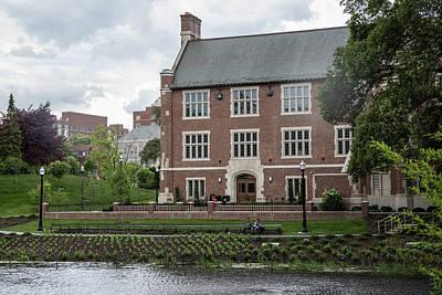 Photograph - Mirror Lake The Ohio State University 2 by John McGraw
