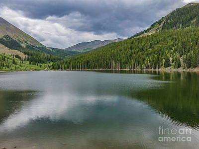 Photograph - Mirror Lake by Tony Baca