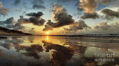 Photograph - Mirrored Beach by DJA Images