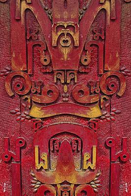 Photograph - Mirrored Detail by Robert Ullmann