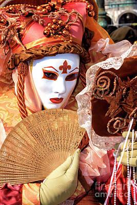 Photograph - Mirrors Never Lie Carnevale Di Venezia by John Rizzuto
