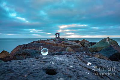 Photograph -  Mission Beach by Roman Gomez