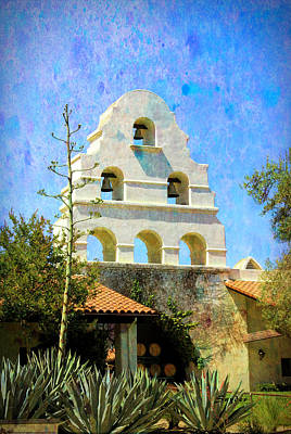 Photograph - Mission Bells At Bridlewood Winery Santa Ynez by Floyd Snyder