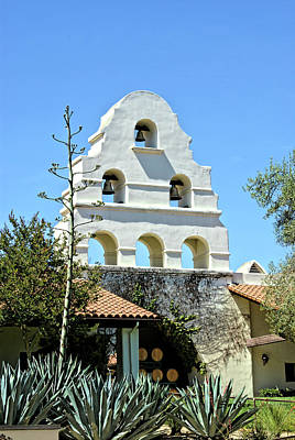 Photograph - Mission Bells At Bridlewood Winery Santa Ynez II by Floyd Snyder