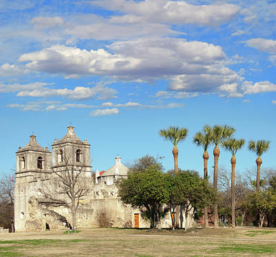 California Mission Photograph - Mission Concepcion, San Antonio, Texas by Ivanastar